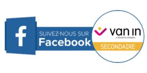 Suivez-nous sur Facebook Secondaire
